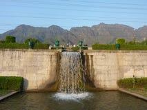 Nishar Bagh, Srinagar, Kaschmir Lizenzfreie Stockfotos