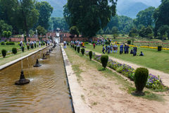 Nishat bagh, Srinagar tourism Stock Images