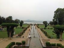 Nishat-Garten Srinagar Lizenzfreie Stockfotografie