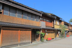 Nishi chaya Japanese old house Kanazawa Japan Royalty Free Stock Photo