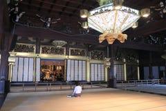 Nishi Honganji temple Kyoto Japan Stock Image