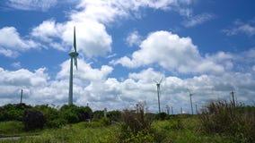 Nishihennazaki il giorno ventoso stock footage