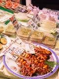 Nishiki food market Kyoto Japan Royalty Free Stock Images