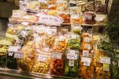 Nishiki jedzenia rynek Kyoto Japonia Obraz Stock