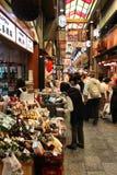Nishiki marknad i Kyoto arkivfoton