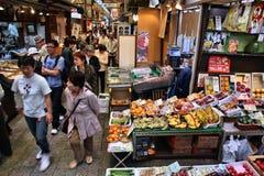 Nishiki marknad, Kyoto fotografering för bildbyråer