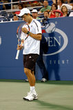 Nishikori Kei at US Open 2008 (15) Royalty Free Stock Image