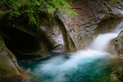 Nishizawa Valley in Yamanashi, Japan Royalty Free Stock Photo