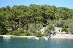 Nisida Agios Nikolaos zdjęcie stock