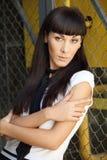 Niska apertury fotografia kawaii projektował młodej kobiety Zdjęcie Royalty Free