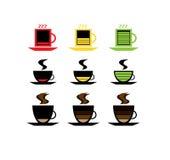 Niska bateryjna kawa Obrazy Stock