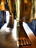 Niska część chodzić Buddha wizerunek zdjęcia royalty free