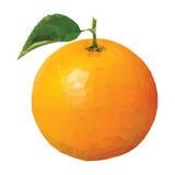 Niska Poli- pomarańcze Obraz Stock