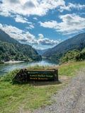 Niski Buller wąwóz Nowa Zelandia fotografia stock