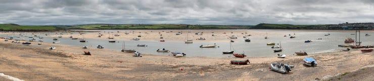 niski Cornwall przypływ Zdjęcia Royalty Free