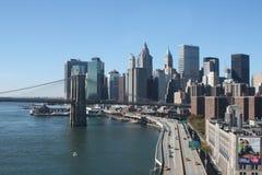 niski Manhattan Zdjęcia Stock