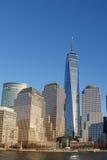 Niski Manhattan drapacz chmur Obrazy Stock