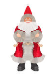 Niski Poli- projekt Święty Mikołaj Zdjęcie Royalty Free