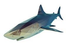 Niski poli- rekin Zdjęcia Stock