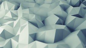 Niski poli- siwieje nawierzchniowego 3D rendering Obraz Royalty Free