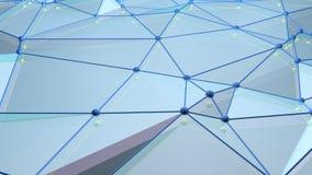 Niski poli- tło z sferami zdjęcie wideo