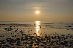Niski przypływ na wyspie Koh Chang fotografia royalty free