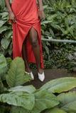 niski sekcja widok amerykanin afrykańskiego pochodzenia dziewczyna fotografia royalty free