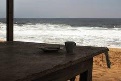 Niski sezon turystyczny na wybrzeżu Afryka Obraz Stock
