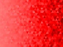 Niski wielobok mozaiki grafiki tło z czerwonym tematów bożych narodzeń tematem Zdjęcie Stock