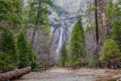 Niski Yosemite spadek Ja Obraz Stock