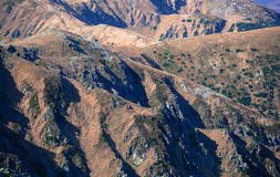 Niskie Tatras góry, Sistani Zdjęcia Royalty Free