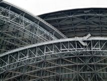 Niskiego kąta widok struktura stadium, Toronto, Obrazy Stock