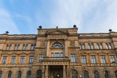 Niskiego Saxony minister finansów w Hannover Germany Zdjęcie Stock