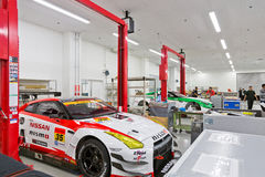 Nismo Race Car Workshop Stock Images