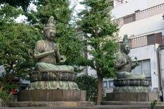 Nisonbutsu buddha statue. S in sensoji, tokyo, japan Stock Photo