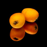 Nispero, Japanese medlar fruit Royalty Free Stock Photography