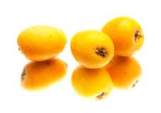 Nispero, Japanese medlar fruit Stock Image