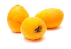 Nispero, Japanese medlar fruit Stock Image