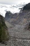 Nisqually Glacier River Basin Stock Images