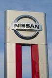 Nissan подписывают Стоковые Изображения RF