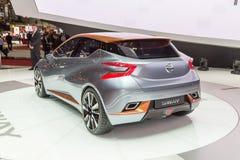 2015 Nissan пошатывают концепция Стоковая Фотография