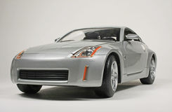 Nissan 2003 350Z. 2003 Nissan 350Z, Yatming Road Signature 1:18 scale diecast replica Royalty Free Stock Photography
