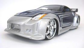 Nissan 2006 350Z. 2006 Nissan 350Z custom street rod, Joy Ride 1:64 scale die cast Royalty Free Stock Photo