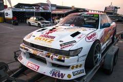 Nissan-afwijkingsauto Royalty-vrije Stock Afbeelding