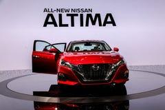 Nissan Altima Platinum Fotografía de archivo libre de regalías
