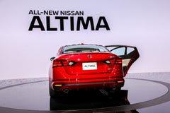 Nissan Altima Platinum Foto de archivo