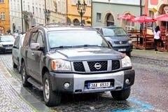 Nissan Armada royalty-vrije stock foto's