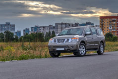 Nissan Armada Royalty Free Stock Photos