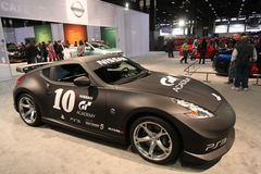 Nissan-Ausstellung Lizenzfreie Stockbilder