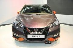 Nissan bij het Car Show van Belgrado Royalty-vrije Stock Foto's